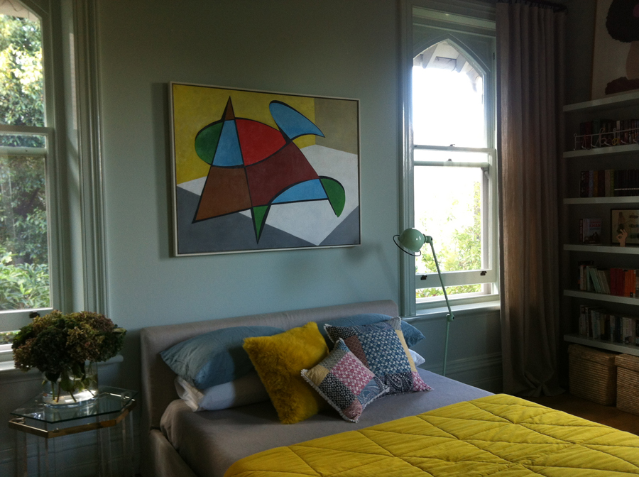 painting to match the furnishings