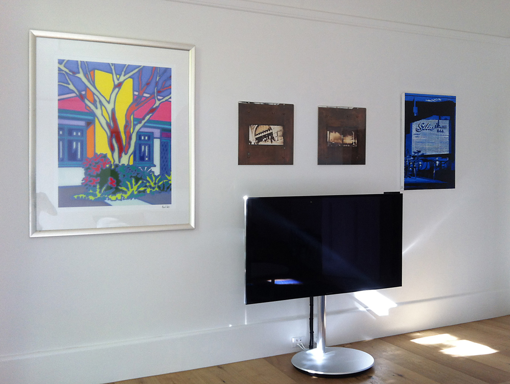 integrating TV with art
